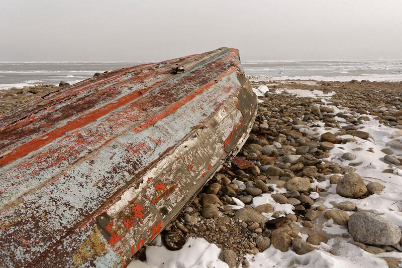 Uzuri lake shore, Olchon Island, Siberia, Lake Baikal