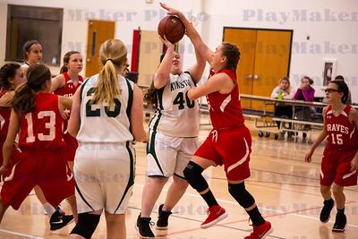 Bellview vs Kingston Girls Basketball 12-10-18