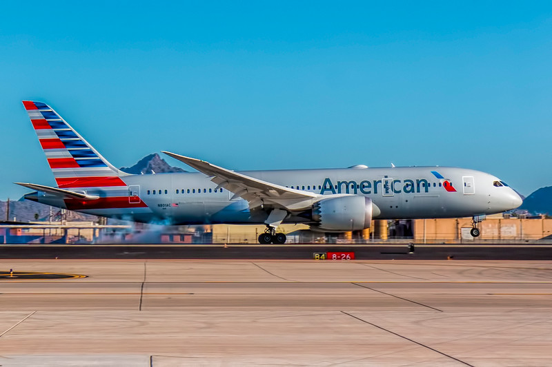 American's Newest Airplane - N801AC