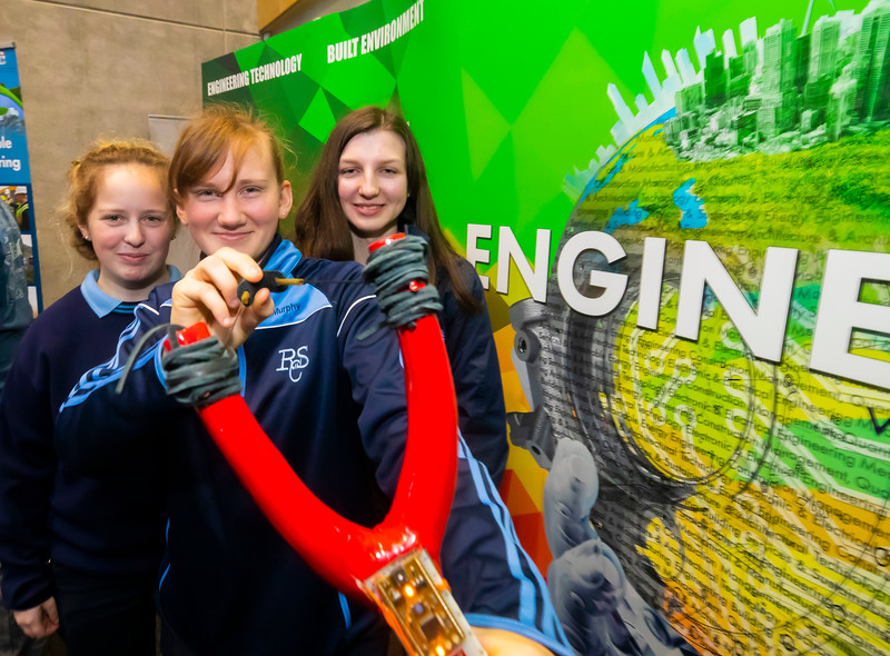 "22/11/2019. FREE TO USE IMAGE. Pictured at Waterford Institute of Technology (WIT) Open Day. Pictured are Rachael Kennedy, Yvonne Murphy-Walsh and Leah Murphy from Ramsgrange Community College. Picture: Patrick Browne  Two open days taking place this week for school leavers and adult learners at WIT Arena  Families of south east Leaving Cert students wishing to get as much course and college-related research done as early as possible in sixth year can do so by attending the Waterford Institute of Technology (WIT) Saturday Open Day, 9am-2pm on 23 November 2019. The traditional schools' open day will run as usual on Friday, 22 November with a focus on information for secondary school students, students in further education colleges, and other CAO applicants, including mature students.  The Saturday Open Day – isn't just about courses for school leavers – it will have information available on the courses available across WIT's schools of Lifelong Learning, Humanities, Engineering, Science & Computing, Health Sciences, Business.  Adults interested in upskilling, or re-skilling can find out about Springboard courses, traditional evening courses as well as part-time and postgrad courses which are offered. WIT also runs specialist programmes for education, science, engineering and other professionals. The number of students studying WIT's part-time and online courses increased to 1650 in 2018, a 28% increase on 2017.  WIT Registrar Dr Derek O'Byrne says: ""A trend we are seeing at WIT Open Days is that students who may have enjoyed the Schools Open day with their friends and school groups, will return the following day with their parents or guardians.""  Students whose schools are attending are encouraged to join their school group on the Friday. As school students are fully catered for at the Schools' Open Day on Friday, there will not be the same breadth of school leaver focused talks and events at the open day on Saturday. However, says Dr O'Byrne it i"