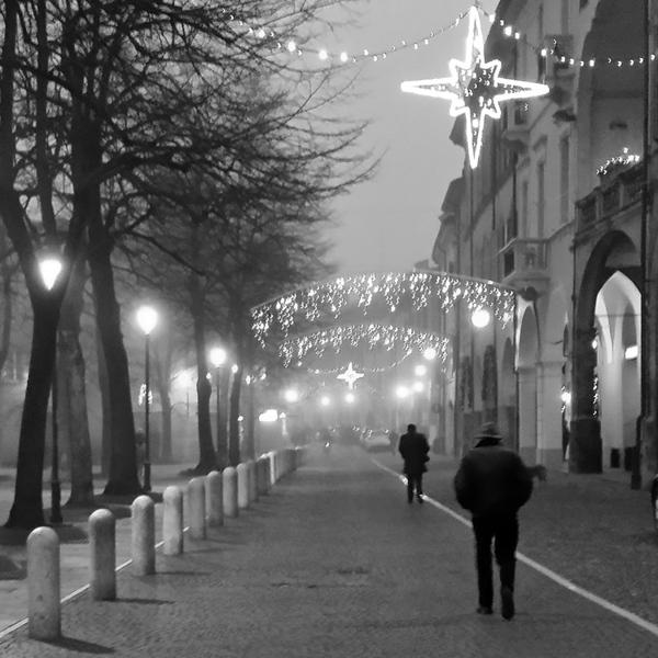 Piazza Fontanesi - Reggio Emilia, Italy - December 24, 2014
