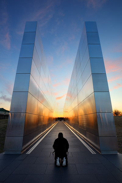 Composing Symmetry, Empty Sky Memorial, Liberty State Park, NJ