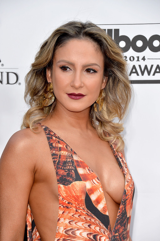 . Singer Claudia Leitte attends the 2014 Billboard Music Awards at the MGM Grand Garden Arena on May 18, 2014 in Las Vegas, Nevada.  (Photo by Frazer Harrison/Getty Images)