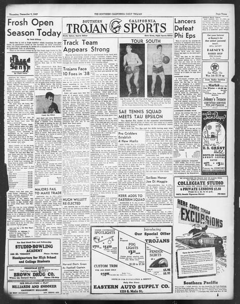 Daily Trojan, Vol. 29, No. 56, December 09, 1937