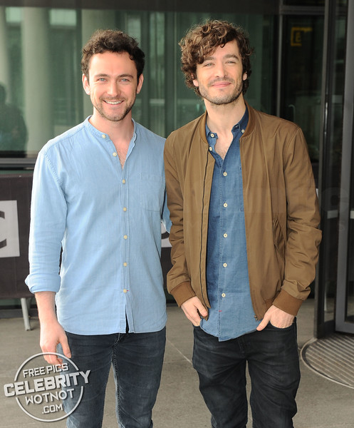 'Versailles' Stars Alex Vlahos & George Blagden Are Buddies In Real Life!