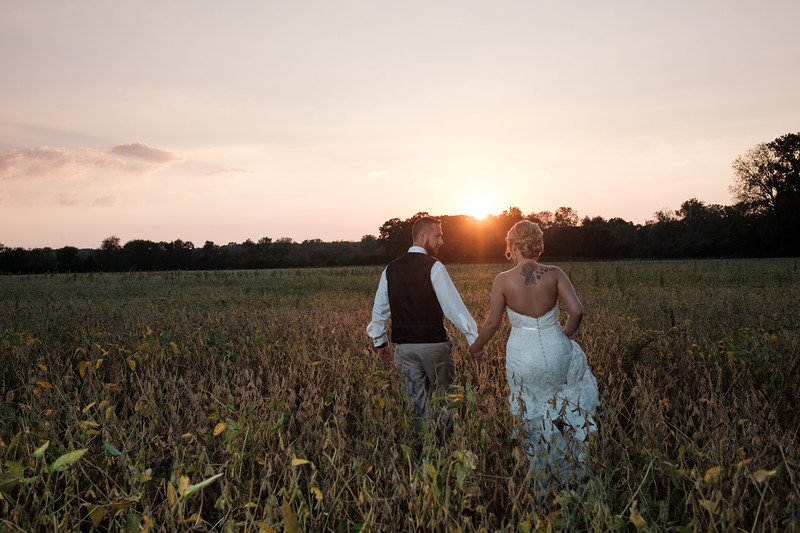 Christin & Jim Old Coon Creek Inn Wedding