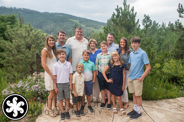 Vail Family Photos - Betty Ford Alpine Gardens - Teasdale - Wisor