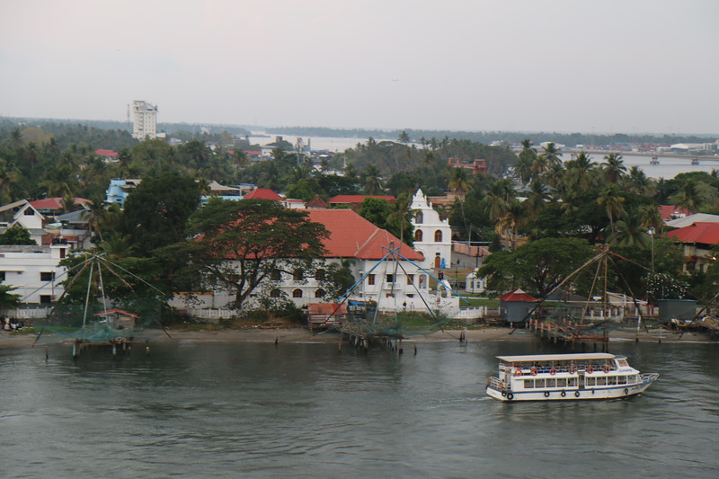 Leaving Cochin, India (Kochi)