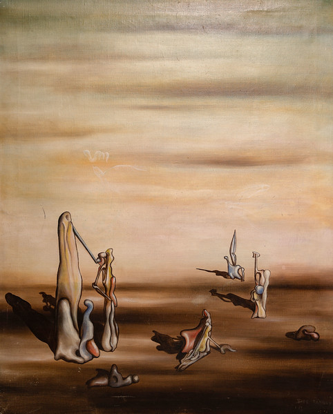 Yves Tanguy, Le Grand Nombre