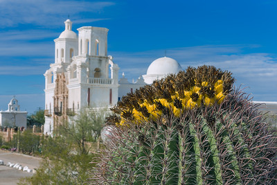 Mission San Xavier del Bac, Tucson AZ (9 January 2015)