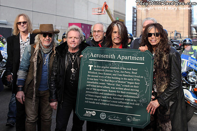 Aerosmith <br> Pre-Election Party  - Boston, MA <br>  November 5, 2012 <br> Photos By: Mary Ouellette