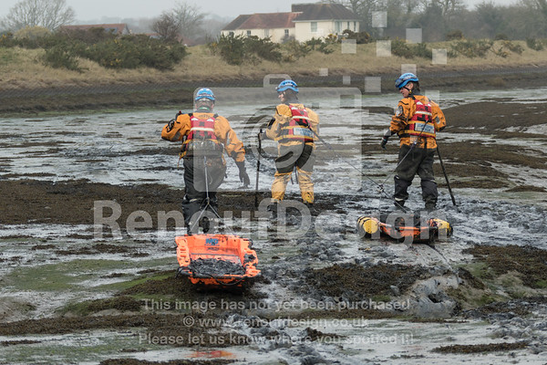 HM Coastguard 2018 Mud Training