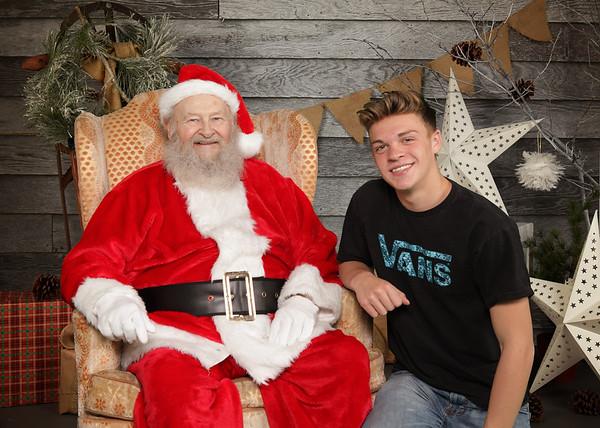 Santa Pictures 2018