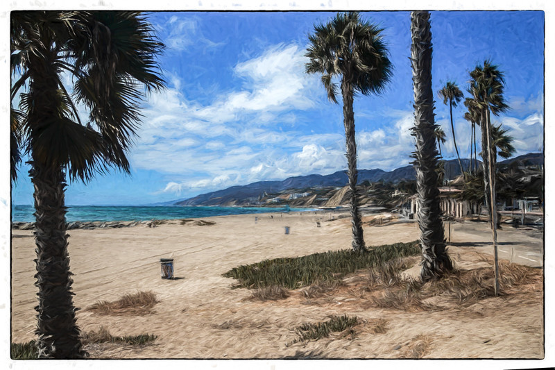 September 13 - Just another day at the beach, Will Rogers State Beach.jpg