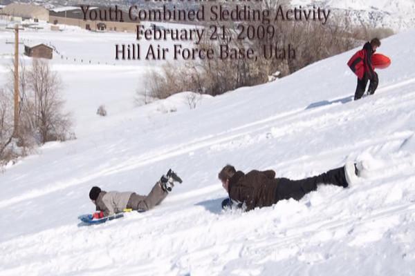 Youth Sledding Activity