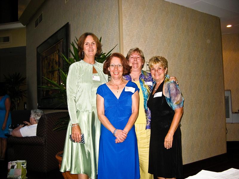 Cheryl Ross Pisani, Linda Grieve, Debbie Rodgers Witherow, Beth Coakley Mills