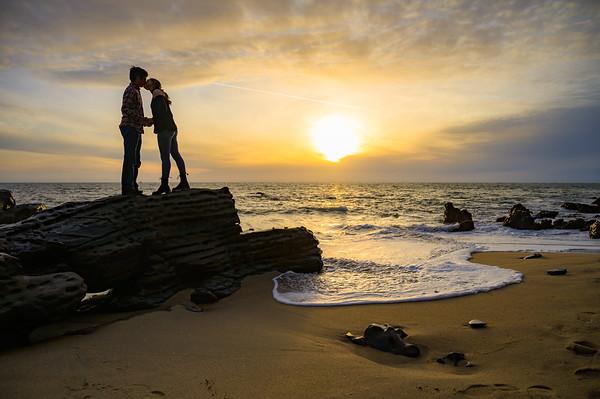 Carol and Nick Engagement @ Panther Beach, Santa Cruz
