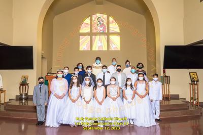 2020-09-12 HF 1st Holy Communion Group