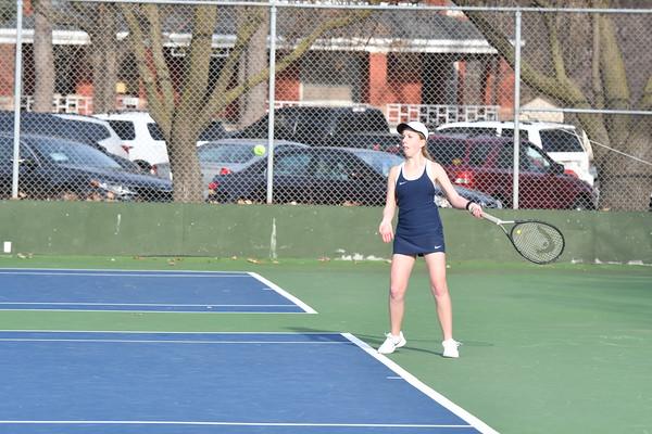Girls Tennis at Lincoln Christian Dual