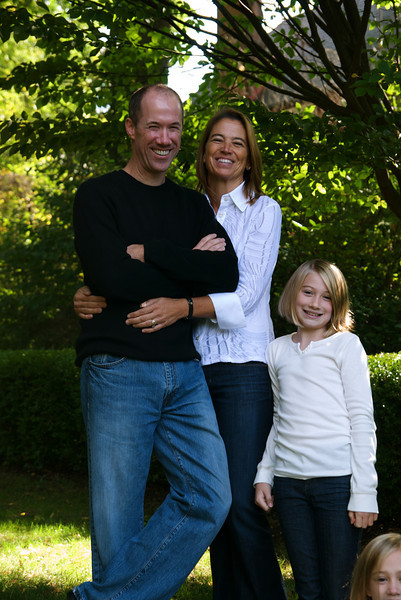 And Sophie's idea of the perfect 'family picture'!