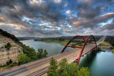Pennybacker Bridge at Austin