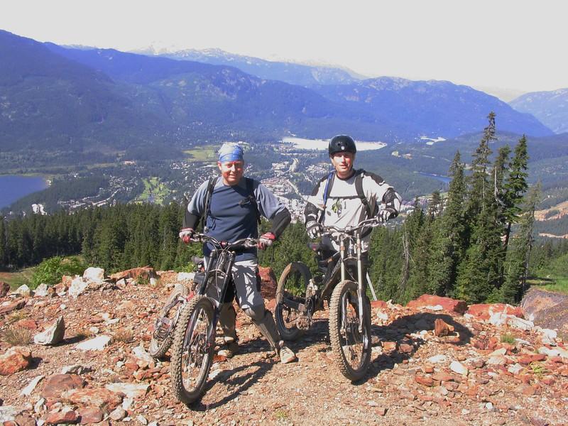 Jeremy & Scott at Whistler Bike Park