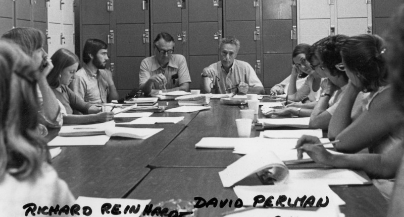 Richard Reinhardt, David Perlman.  Workshop. 1976.