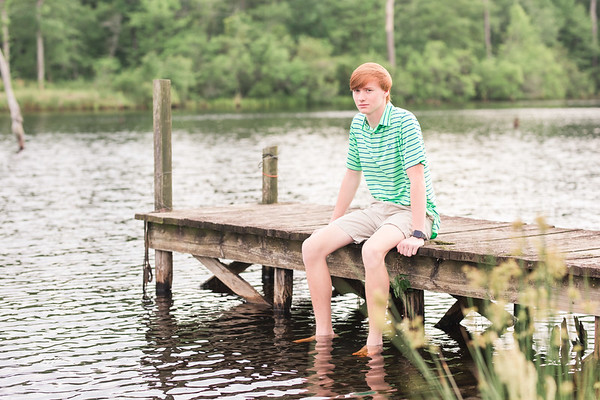 Hunter Teems | Conway High School Senior Session
