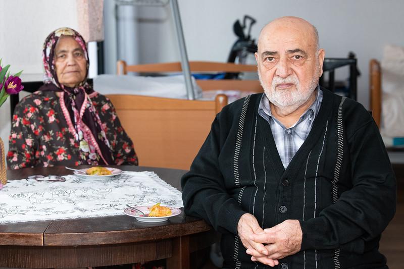 Portret Emine en Ahmet