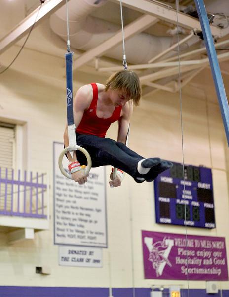2005.04.23 - Niles West Boys Gymnastics @ Cress Invite