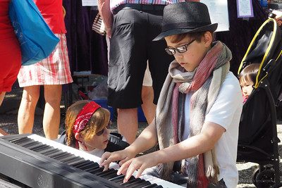 Street Musicians Salt Spring Island July 1 2017