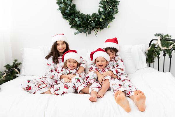 Christmas Pajama Photos