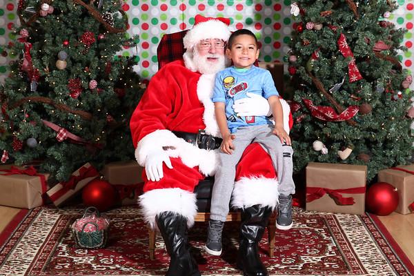 Santa at Oak Grove Elementary!