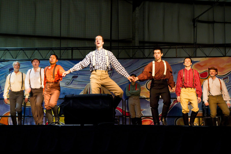 Barbary Coast Cloggers at the Harvest Festival in San Mateo