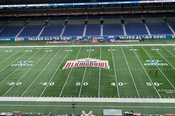 Alamo Bowl 2017 Pre-Game Shots