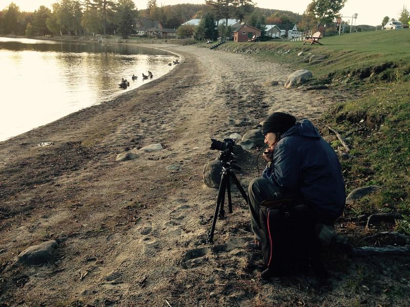 Sunset shoot on Lake Pleasant