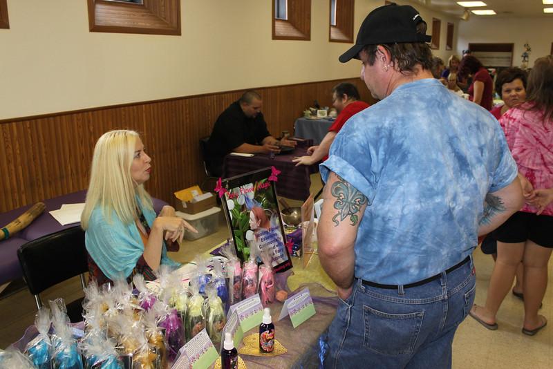 Holistic Expo, Community Center, Tamaqua, 8-20-2011 (13).JPG