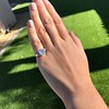 3.43ctw Emerald Cut Diamond 5-Stone Ring by Leon Mege, GIA F SI1 3