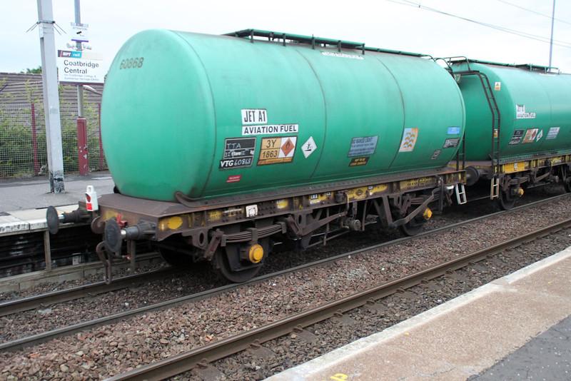 TTA 60868 In 6z47 Prestwick-Grangemouth at Coatbridge Central 02/07/12