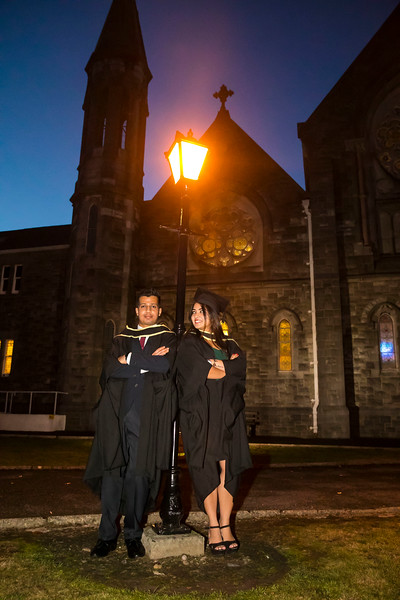 01/11/2018. Waterford Institute of Technology (WIT) Conferring Ceremonies 2018. Pictured are Neha Sahu India and Waterford and Shravan Kumar India and Waterford. Picture: Patrick Browne