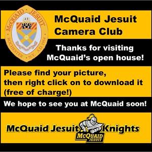McQuaid Open House - Camera Club