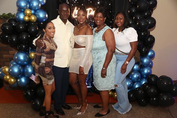 Dominique's College Graduation Party