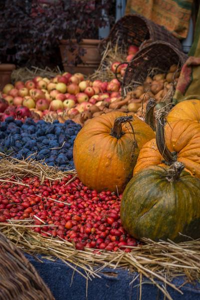 A beautiful harvest scene for Tbilisoba