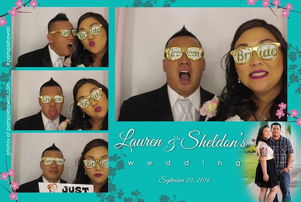Lauren & Sheldon's Wedding (Luxury Photo Booth)