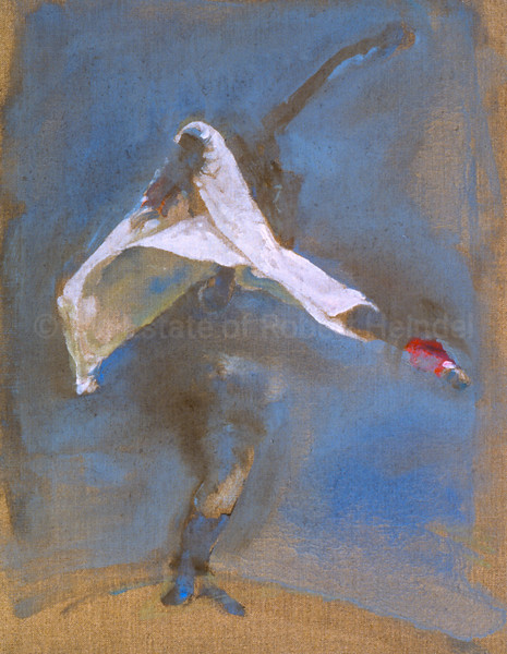 Study for The White Skirt III (1991)
