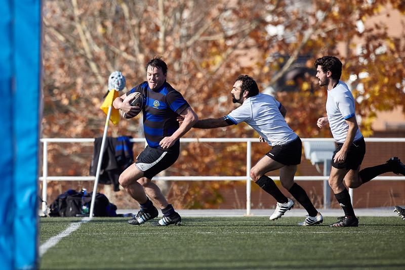 I.Industriales C vs Madrid Titanes RC: 106-7