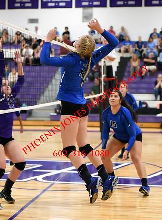 9-6-2016 - Northwest Christian v Fountain Hills Volleyball