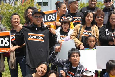 John Avalos for Mayor, Kick-Off Rally