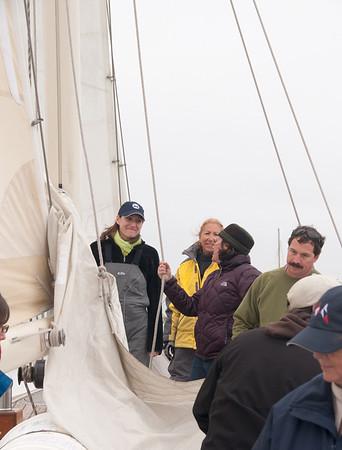 Master Mariners Regatta - Aboard the Seaward
