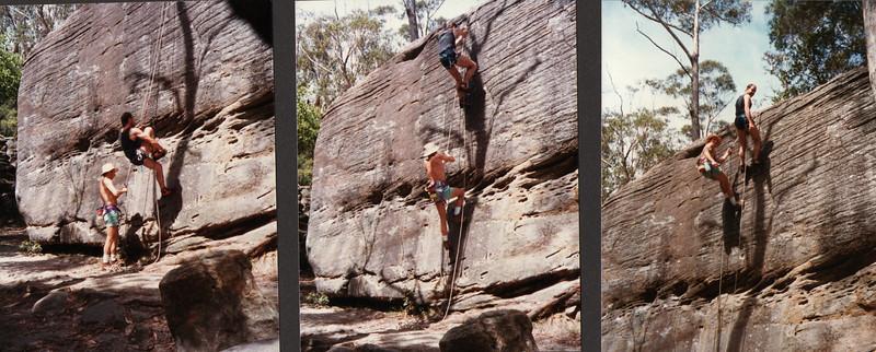 Prussik Practice, Lindfield Rocks, Sydney